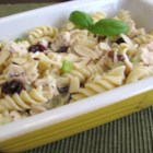 Poppy Seed Chicken Pasta Salad - A light and elegant chicken pasta salad made with dried cranberries and poppy seed dressing is ready in less than an hour.