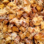 Chef John's Homemade Croutons  - Chef John's homemade garlic-parmesan croutons are easy to make and the perfect crunchy topper for salads and soups.