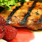 Raspberry-Marinated Chicken - If you need chicken for topping a salad, try these breasts marinated in a mixture of lemon juice and raspberry jam.