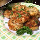 "Connie's Zucchini ""Crab"" Cakes - ""These really taste like crab cakes but without the crab, and are a really good way to utilize that bumper crop of zucchini!"""