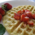 Buttermilk Prairie Waffles - You'll want to wake up to this buttermilk waffle recipe from the Saskatchewan prairies, best served with Canadian maple syrup and crisp bacon.