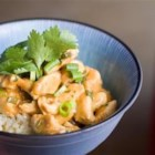 Denise's Peanut Chicken - Everyone who enjoys this recipe always asks what restaurant we ordered it from! It is fast and simple to make. I would say it's a bit like a stir fry with a Thai flavor!