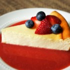 New York-Style Cheesecake - A beautifully flavored, citrus-infused New York-style cheesecake with a graham cracker crust.