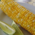 Margarita Grilled Corn on the Cob - Grilled corn on the cob with lime salt and chili powder is a margarita-inspired flavor for your summer barbeques.