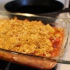 Chef John's Rhubarb Crisp  - Chef John's recipe for rhubarb crisp is a classic take on the old-fashioned all-American dessert.