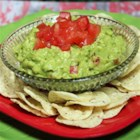 Guacamole My Way - Creamy avocados, onion and diced tomatoes combine to make the best dip for tortilla chips! This guacamole is also good as a condiment for sandwiches.