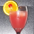 Cran-Dandy Cooler - A carbonated cranberry and pineapple refreshing cooler.