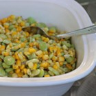 Al's Sufferin' Succotash - Frozen lima beans, corn, and green chile peppers cook up quickly for an easy and tasty side dish.