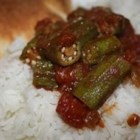 Quick and Easy Indian-Style Okra - Exciting Indian spices bring a warm, exotic flavor to fried okra.