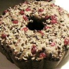 Applesauce Fruitcake - Fruitcake made with applesauce and maraschino cherries.