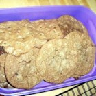 Mocha Chocolate Cookies - I call these 'Moaners.' A rich dark cookie.