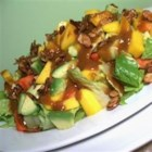 Georgie's Mango Papaya Salad - A nice, refreshing tart and sweet salad made with mango, papaya and avocado that is excellent for any time of year. This will turn any meal into a special occasion. Perfect for tropical themed parties!