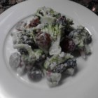 Best Broccoli Salad Ever! - This delightful, cool, and crisp salad with healthy fruits, vegetables, and nuts that is a great accompaniment to any entree.