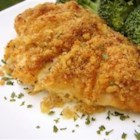 Easy Deviled Chicken - A creamy mustard sauce gives herb-baked chicken a real boost.
