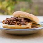 Southern Pulled Pork - This recipe starts out on the stove, and ends up in the slow cooker!  Add your favorite BBQ sauce and eat plain or on a bun! Great for parties.