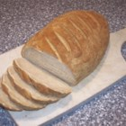 German Rye Bread - Nothing smells better than home-baked bread--this is a hearty bread, great with mustard, corned beef, Swiss cheese, and sauerkraut.