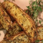 Crusty Herb Potato Wedges  - Chef John's quick and easy recipe for crusty herbed potato wedges calls for herbes de Provence and a bit of paprika.