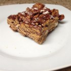 Smore's Bars - This chewy bar treat gets its name from use of honey graham cereal, marshmallows, and chocolate chips.