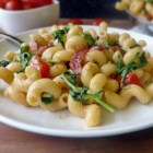 Chef John's BLT Pasta  - The flavors of America's favorite sandwich, bacon, lettuce, and tomato, combine in a fresh and tasty pasta dish that cooks up in a jiffy.