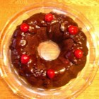 Chocolate Cherry Cake III - A must for chocoholics, very moist and fudgy, yet oh so simple to bake.