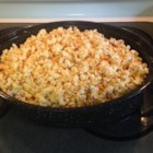 Cajun-Spiced Popcorn - Popcorn is roasted with butter and a blend of spices to make an addictive snack. I make this for watching movies or even sports.