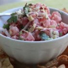 Coconut Cashew Tuna Tartare - Chef John's recipe for tuna tartare is made with serrano peppers, coconut milk, and cashews.