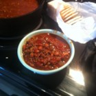 Ed's Chili Supper Chili - This vintage chili recipe with ground beef, chili beans, and canned tomatoes goes back to the chili-supper events held in schools back in the 1950's.