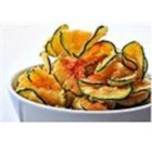 Quick Zucchini Chips - Crispy zucchini chips with paprika and sea salt are a fantastic and tasty alternative to traditional potato chips.