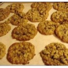 Best Oatmeal Cookies - An oatmeal cookie with raisins and walnuts, spiced with a little cinnamon.