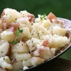 Garlic Mashed Potatoes Secret Recipe - Red potatoes mashed with butter, Romano cheese, garlic, salt and oregano.  A new twist on a familiar favorite!