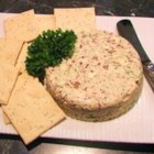 Serious Herb Cheese Spread - Served on crackers, this savory cheese spread is perfect for whetting the appetite before the big dinner.