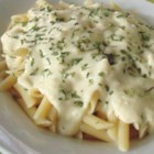 Better-Than-Olive Garden(R) Alfredo Sauce  - Creamy and rich Alfredo sauce that some may say is better than the famous Italian restaurant chain is quick and easy to make.
