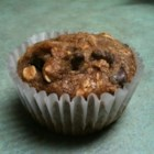 Gluten-Free Choc Chip Oatmeal Muffins - Enjoy these gluten-free chocolate chip oatmeal muffins for breakfast or as a snack.