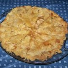 Quick Caramel Apple Pie - Apples are perfectly accompanied with caramel in this delightful pie. The apples are sugared and floured and arranged in a pie shell. And just before the top crust is put on, a caramel sauce is spooned over the apple filling. The pie bakes, the caramel mingles with the yummy apples, and the result is a luscious and tasty treat.