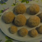 Cheese and Potato Rissoles - This rissole recipe is a copycat of an item served in a southern Wales fish-and-chip shop, delivering deep-fried balls of mashed potatoes.