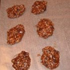 No Bake Fudge Cookies - Easy to make cookies with children.  No baking is required.