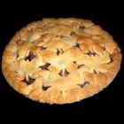 Fresh Blueberry Pie IV - Fresh blueberries are cooked up with sugar, cornstarch and water until thick and bubbly. Butter, lemon juice, orange liqueur and fresh whole blueberries are stirred in. This lovely mixture is then spooned into a pre-baked pie shell and chilled.