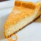 Creamsicle(R) Cheesecake - Take a bite out of your childhood with this nostalgic and delicious Creamsicle(R) cheesecake.