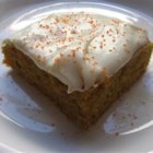 Cream Cheese Frosting I - A delicious and tangy cream cheese frosting suitable for banana bread, pumpkin bars, carrot cake, or cookies.