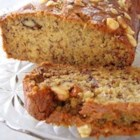Lower Fat Banana Bread I - The deep banana flavor needs no other adornment in this simple bread with less sugar and fat than other recipes like it.