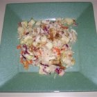 Apple Coleslaw - Your basic coleslaw gets a sweet surprise with the addition of Granny Smith apples. Great as a side dish with pork sandwiches.