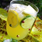 Sangria (White) - This version of the famously refreshing Spanish summertime punch uses white wine rather than red for a sweeter beverage. Serve over frozen grapes.