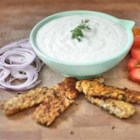 Tzatziki - A Greek Mother's Sauce - Vegan tzatziki sauce, made with silken tofu and cucumbers, is a fresh and bright sauce to add to any Greek-inspired meal.