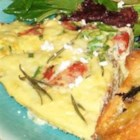 Ham And Cheese Frittata - This frittata is a nice change of pace from traditional scrambled eggs. Plus, it looks so pretty on a buffet table.                                         --Ivy Abbadessa, Laxahatchee, Florida