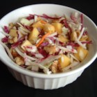 Tangy Mango Slaw - Here's a refreshing salad that you can feast on without fear. It's low-calorie and packed with disease-fighting antioxidants in the cabbage, onion, mango and walnuts.