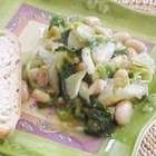 Escarole and Beans - This is a creamy concoction of escarole and beans.  It's rich, and it's divine! It's also best served with a warm crusty Italian bread.