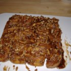 Grandmother Stougaard's Caramel Pecan Sweet Rolls - Lovely cinnamon rolls with a gooey pecan topping. This is an Stougaard old family favorite. Not the easiest to make, but well worth the trouble. Gooey and sweet. Best eaten fresh from the oven. I usually double the recipe because if you go to the trouble to make yeast rolls - make lots.