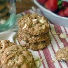 Strawberry Cinnamon Oatmeal Cookies - Awesome oatmeal cookies with a slightly different, interesting flavor.