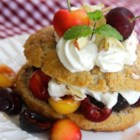 Fresh Cherry Shortcake - Fresh and sweet summer cherries make a wonderful filling for homemade shortcakes.