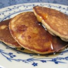 Blueberry Oatmeal Pancakes - Blueberry oatmeal pancakes, made with ground oats instead of wheat flour, are a nice alternative if you are staying clear of wheat.